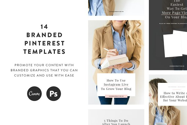 Kate Pinterest Templates