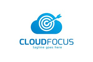 Cloud Focus Logo Template