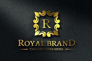 Royal Brand Logo Template