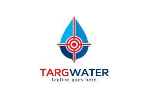Target Water Logo Template