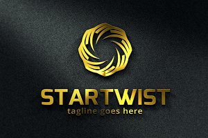 Start Twist Logo/ Technology Logo