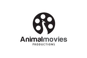 Animal Movies Logo Template