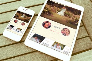 WordPress Wedding Themes - Onepage Wedding Wordpress Theme