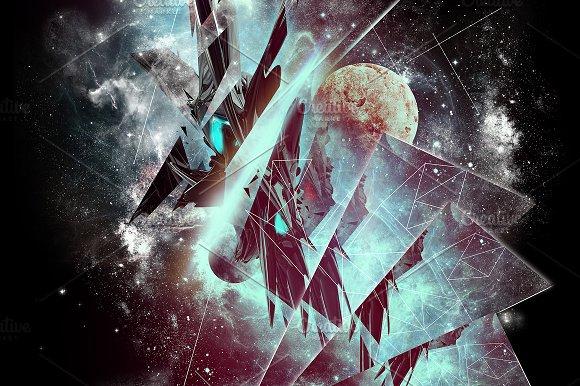 """""""Prisma"""" Digital Background & Poster"""