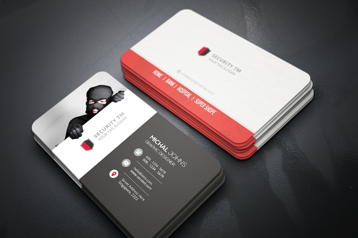 Anti Security Business Cards