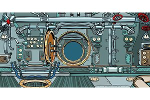 compartment of the spacecraft or