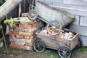 Transporting bricks