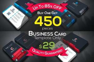 Full & Finel 450 Business Cards