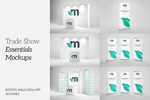 Booth mockup Photos, Graphics, Fonts, Themes, Templates ~ Creative