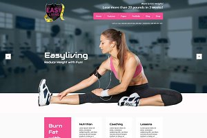 Easyliving - Weight Loss WP Theme