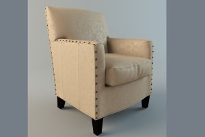 Alabaster Leather Chair