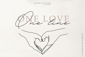 One Love. One Line Graphics