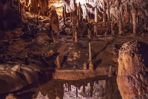 Mysterious Cave reflection