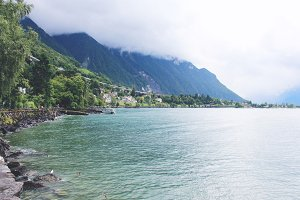 Montreux on the shores of Geneva