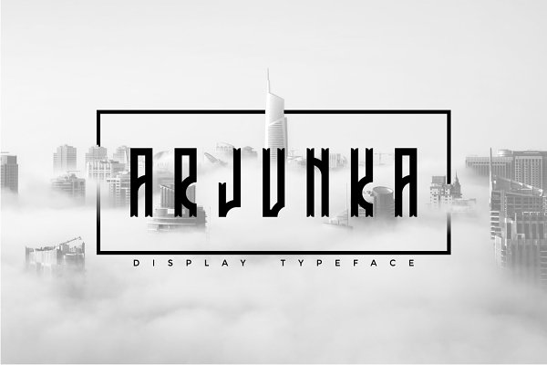 Fonts: PutraCetol Studio - Arjunka Typeface
