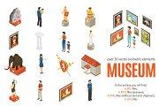 Museum Isometric Set