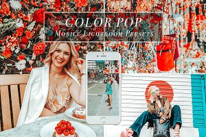 Mobile Lightroom Presets COLOR POP