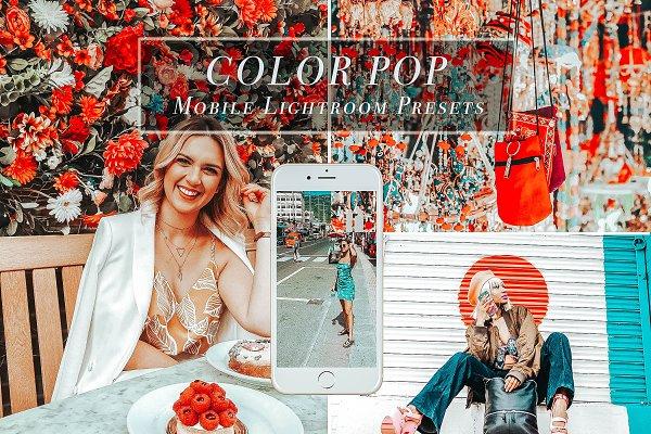 Add-Ons: Color Me Presets - Mobile Lightroom Presets COLOR POP