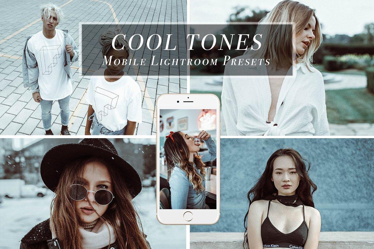 Mobile Lightroom Preset COOL TONES ~ Other Design Software Add-Ons