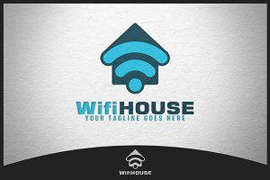 Wifi House Logo