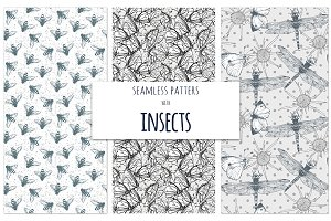 Insects pattern set