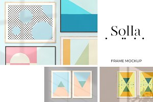 Solla — Flexible Frame Mock-Up