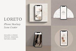 Loreto - iPhone X Scene Creator