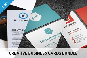 Creative Business Cards Bundle vol.4