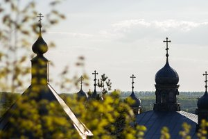 Spring in the Orthodox monastery