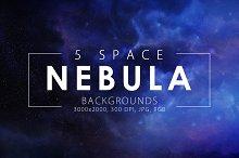 5 Realistic Nebula Backgrounds