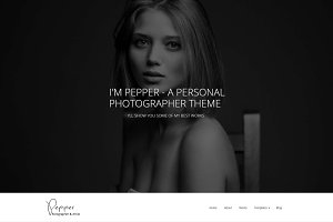 Pepper - Photographer WP Theme