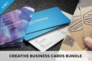 Creative Business Cards Bundle vol.6