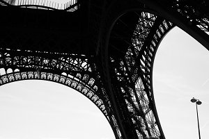 Eiffel Tower structure