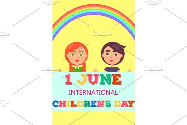 1 June International Day Poster with
