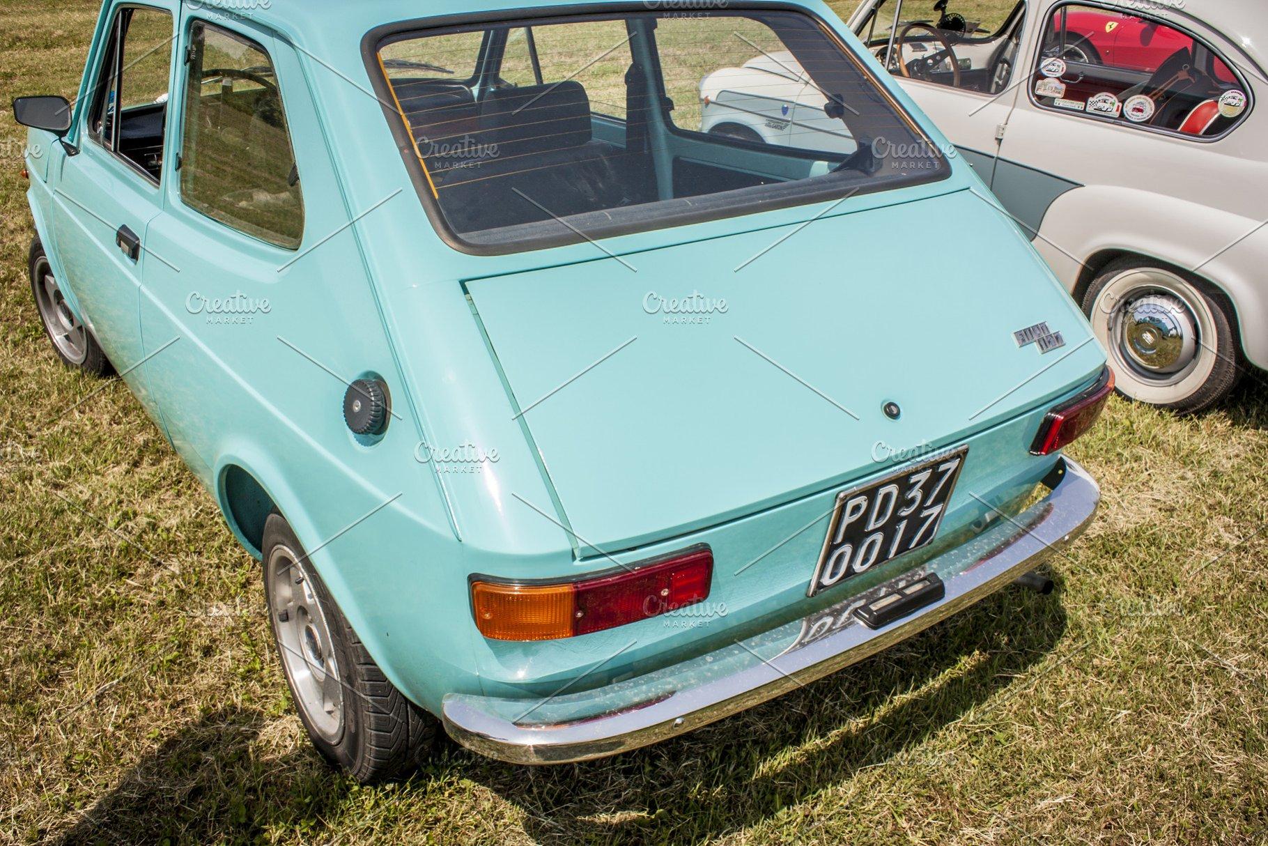 The Fiat 127 High Quality Transportation Stock Photos Creative