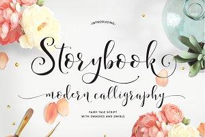 Storybook Calligraphy Script