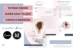 Lady Coach eBook Canva Indesigns