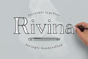 Rivina - Layered Font
