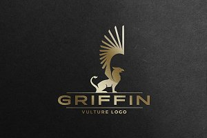 Griffin Logo Mythical Creature