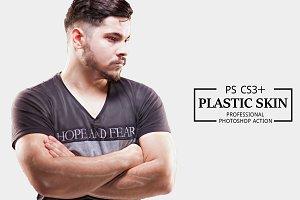 Plastic Skin Photoshop Action
