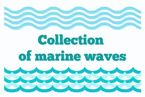 Collection of Marine Wave