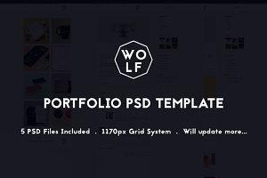 Wolf - PSD Portfolio