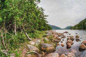 Lake Jordan view in Acadia National