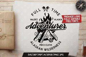 Full Time Adventurer Logo