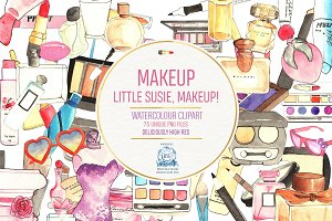 75 MAKEUP AND COSMETICS CLIPART PNG