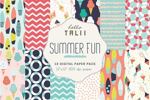 Summer Fun Patterns