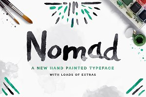 Nomad Font + Extras