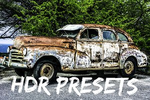 12 HDR LIGHTROOM PRESETS