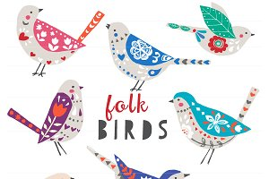 Folk Birds EPS
