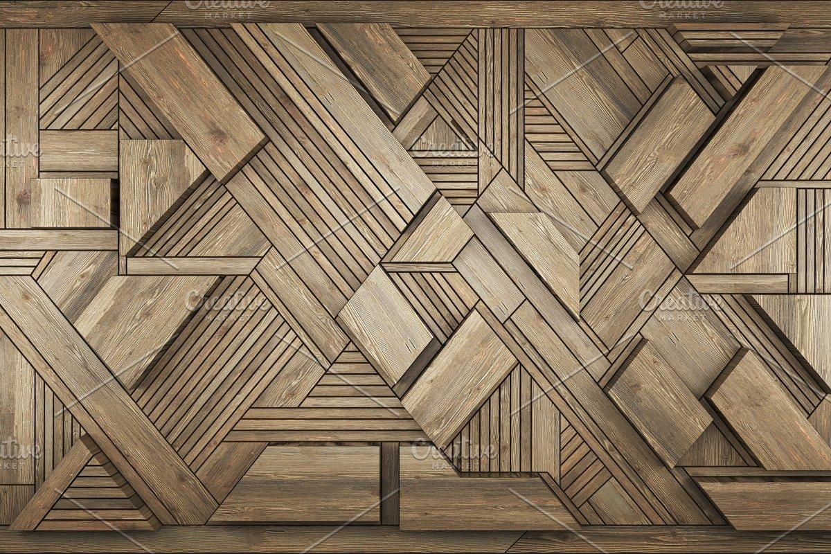 3D Interior decoration element for